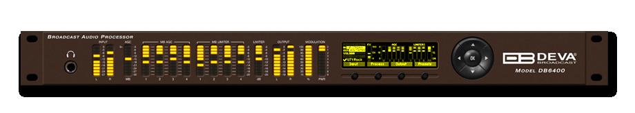 DEVA Broadcast - Products - Audio Processors - DB6400